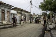 street in Cienfuego
