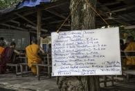 Schoolprogramma voor de monniken