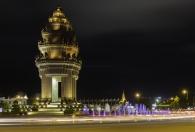 Statute at Phnon Pen