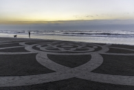 art on the shore
