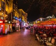 Uitgaansleven aan de grote markt