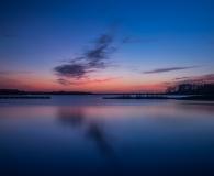 Het Blauwe Uur boven het lauwersmeer