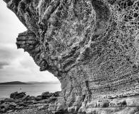 Honycomb rock at Elgol